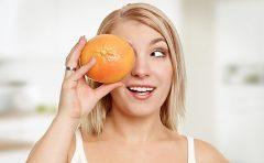 グレープフルーツで美肌に?疲労回復効果に便秘解消まで?