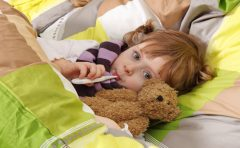 水疱瘡の初期症状で子供は熱が出る!発熱時の対処法は?
